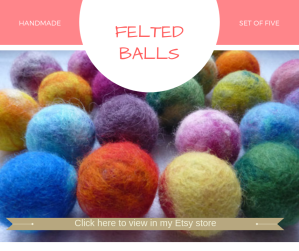 Handmade Felt Balls